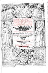 Bibel, alt unnd new Testament ... erstlich durch Johan Ecken auff Hochteutsch verdolmetscht, gebessert u. gemehrt durch Tobiam Hendschelium