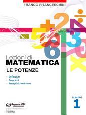 Lezioni di Matematica 1 - Le Potenze