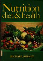 Nutrition Diet and Health PDF