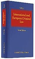 International and European Criminal Law PDF