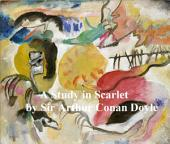A Study in Scarlet, First of the Four Sherlock Holmes Novels