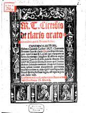 De claris Oratoribus liber, qui et Brutus dicitur