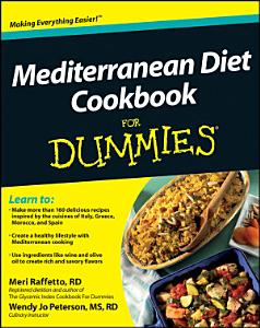 Mediterranean Diet Cookbook For Dummies Book