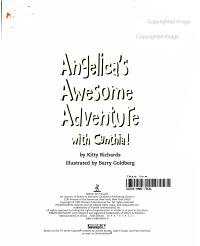Angelica s Awesome Adventure with Cynthia