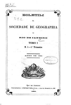 Revista Da Sociedad Brasileira de Geografia