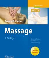 Massage: Klassische Massage, Querfriktionen, Funktionsmassage, Ausgabe 3