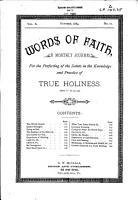 Words of Faith PDF
