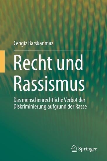 Recht und Rassismus PDF