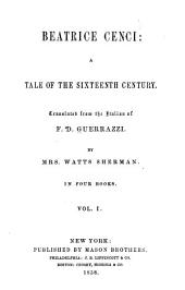 Beatrice Cenci: A tale of the sixteenth century: Volume 1