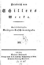 Theater, vierte Periode, erste Hälfte: Die Jungfrau von Orleans (1802): 12