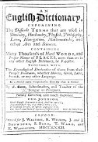 An English Dictionary  etc PDF