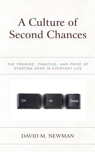 A Culture of Second Chances Book