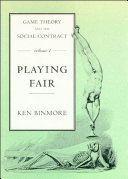 Game Theory and the Social Contract  Playing fair PDF