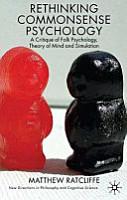 Rethinking Commonsense Psychology PDF