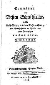 Geschichte der Deutschen: Von Lotharn dem Sachsen, bis auf Rudolphen von Habsburg : Von 1125 - 1218. 6