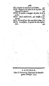 Mandement portant permission de manger des oeufs pendant le Carême de la présente année 1752