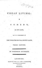 Cheap Living: a comedy ... Third edition