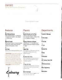 The National Culinary Review PDF
