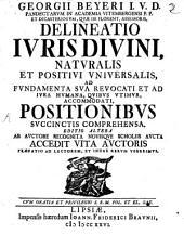 Delineatio iuris divini, naturalis et positivi universalis