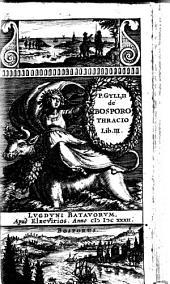 Petri Gylii De Bosporo Thracio lib. 3