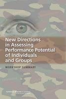 New Directions in Assessing Performance Potential of Individuals and Groups PDF