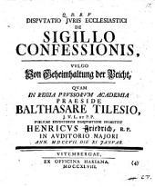 De sigillo confessionis