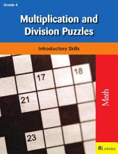 Multiplication and Division Puzzles: Introductory Skills