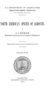North American Species of Agrostis
