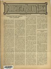 California Fruit News: Volume 53, Issue 1445