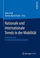 Nationale und internationale Trends in der Mobilit  t PDF
