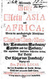 Allerneueste Reise in Klein-Asia und Afrika: aus dem Franz. mit einer Charte