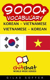 9000+ Korean - Vietnamese Vietnamese - Korean Vocabulary