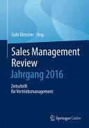 Sales Management Review     Jahrgang 2015 PDF