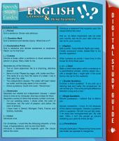English Grammar & Punctuation (Speedy Study Guides)