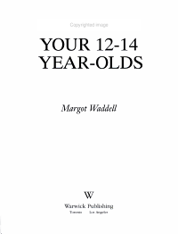 Understanding Your 12 14  Year Olds PDF