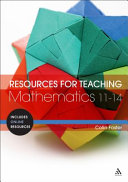 Resources for Teaching Mathematics, 11-14