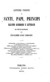 Santi, papi, principi: con note ed illustrazioni