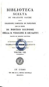 Raccolta di panegirici sopra i misteri di nostro Signore. Como 1826-1827. 7 Vol