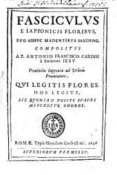 Fasciculus e Iapponicis floribus, suo adhuc madentibus sanguine