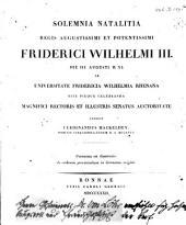 De ordinum provincialium in Germania origine