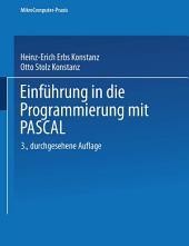 Einführung in die Programmierung mit PASCAL: Ausgabe 3