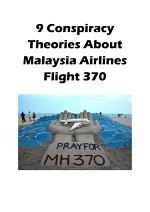 9 Conspiracy Theories About Malaysia Airlines Flight 370