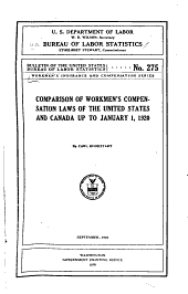 Workmen's Insurance and Compensation Series: Issues 17-19