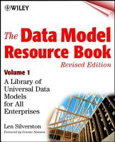 The Data Model Resource Book  Volume 1 PDF