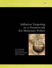 Inflation Targeting as a Framework for Monetary Policy