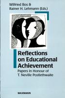 Reflections on Educational Achievement PDF