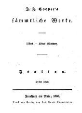Sämmtliche Werke: Italien : Th. 1, Bände 112-114