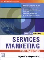 Services Marketing 2E PDF