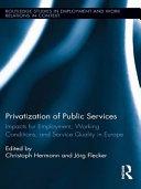 Privatization of Public Services PDF