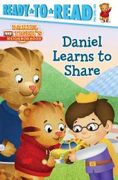Daniel Learns to Share: With Audio Recording